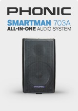 Phonic Smartman 703A 1100W Audio-System
