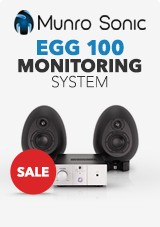 Munro Sonic EGG 100 Monitoring System, Black
